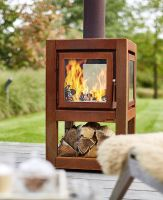 Holz Outodoor Feuer