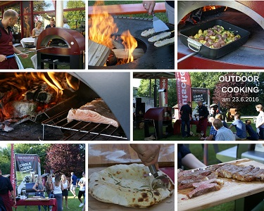 live outdoor cooking Rosenheim